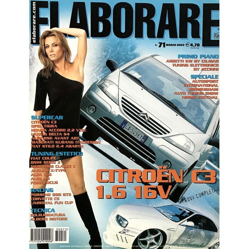 Elaborare n° 71 Marzo 2003