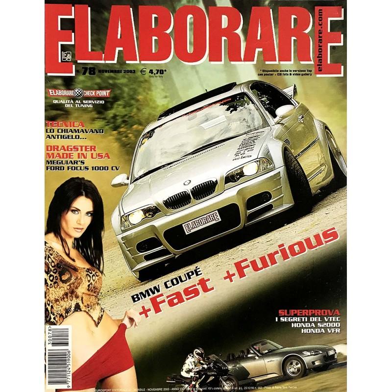Elaborare n° 78 Novembre 2003