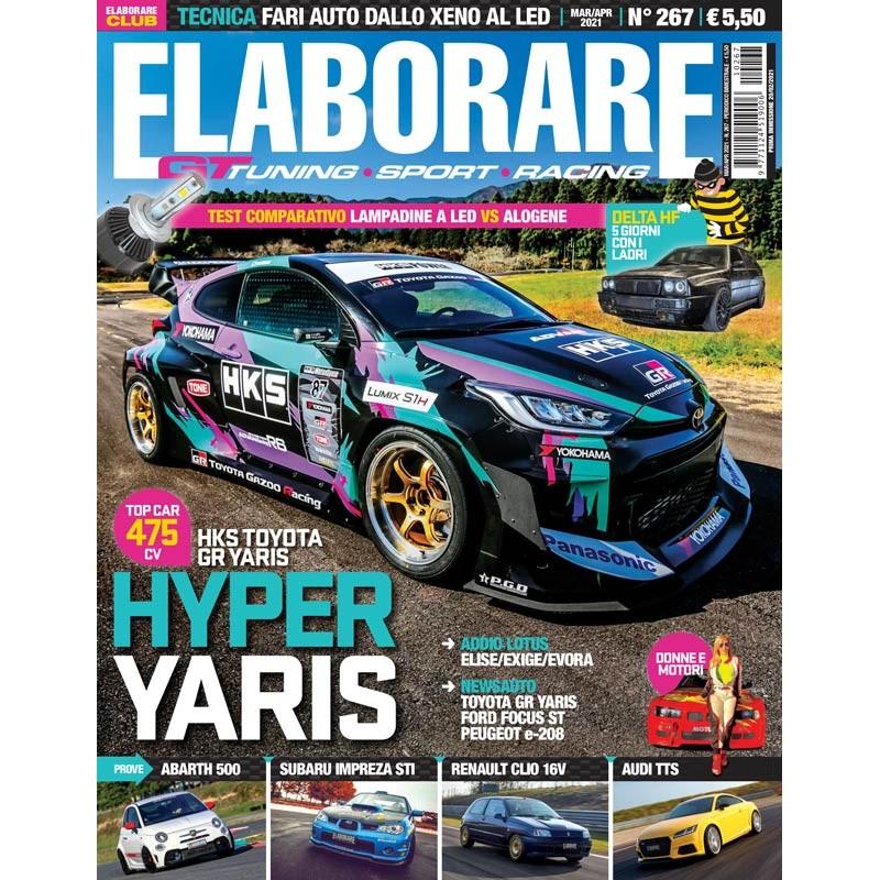 Magazine ELABORARE n.267 con la prova integrale della Ford Focus ST