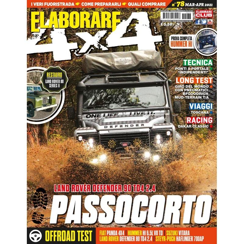 magazine ELABORARE 4x4 con l'articolo sulla Suzuki Ignis Hybrid