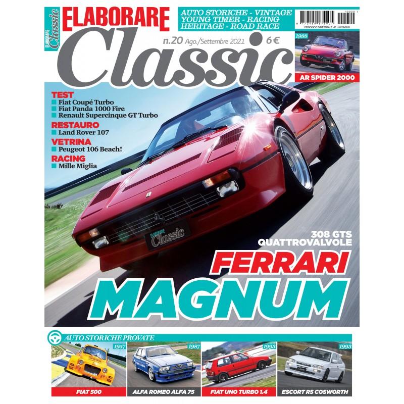 Elaborare Classic, magazine dedicato alle auto classiche sportive e da corsa