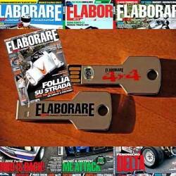 Abbonamento 2 anni Elaborare 22 numeri e chiavetta USB 16 GB