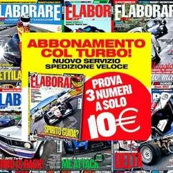 Abbonamento Turbo - Elaborare 3 numeri