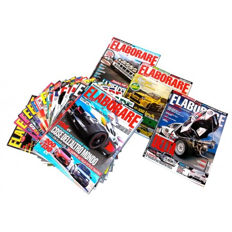 Lancia Delta Integrale raccolta N° 21 magazine ELABORARE