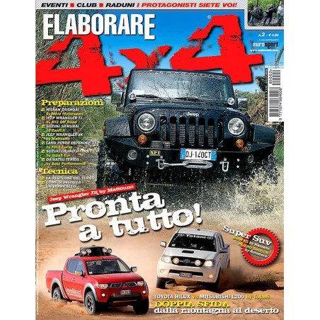 Elaborare 4x4 n° 2 giugno-luglio 2008