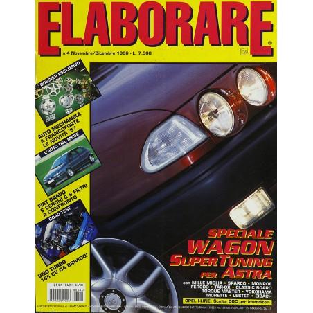 Elaborare n° 4 Novembre-Dicembre 1996