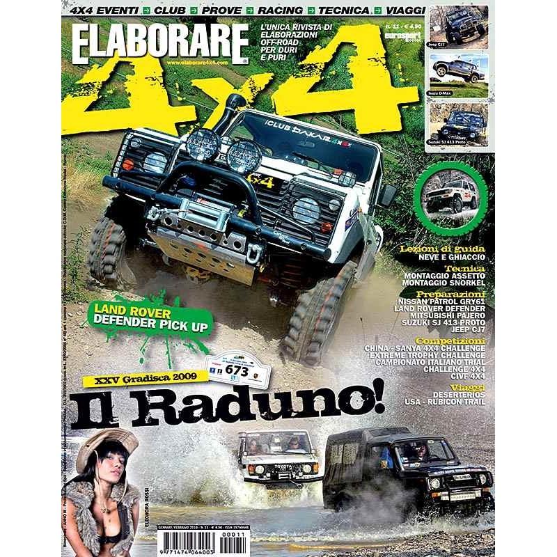 Elaborare 4x4 n.011 gennaio-febbraio 2010