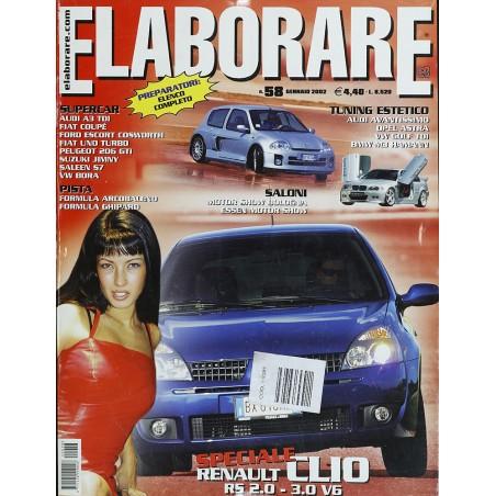 Elaborare n° 58 Gennaio 2002