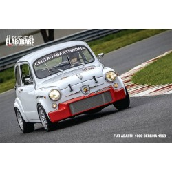 Poster FIAT ABARTH 1000...