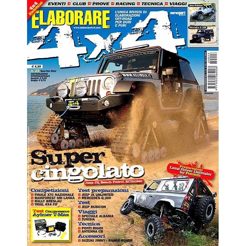 Elaborare 4x4 n.023 gennaio-febbraio 2012