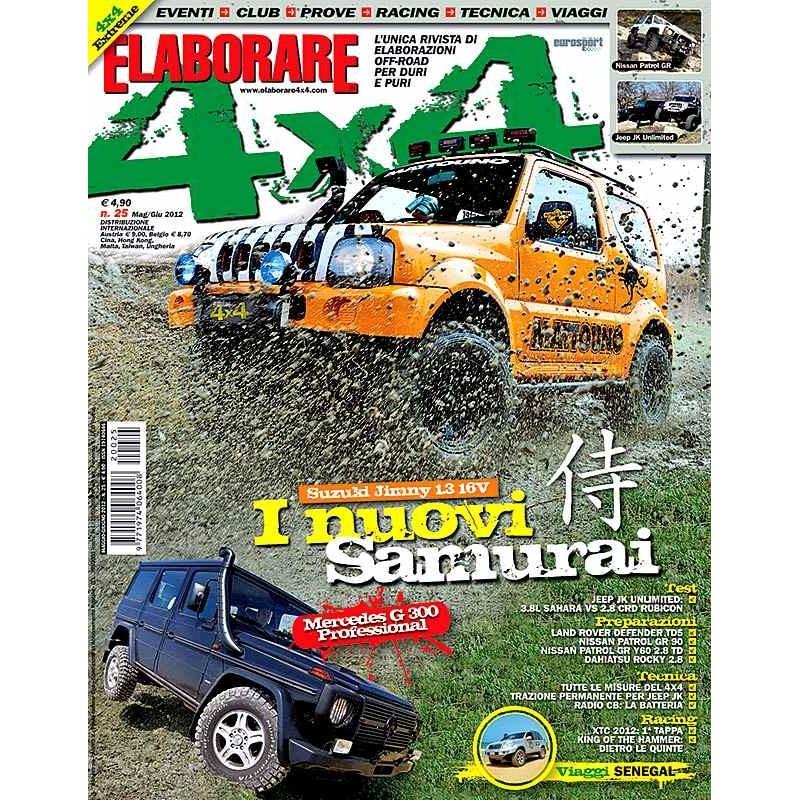 Elaborare 4x4 n.025 maggio-giugno 2012
