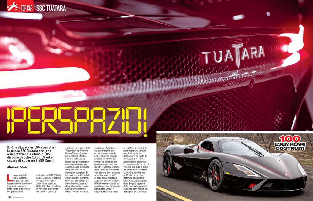 Top Car SSC Tuatara Elaborare 259