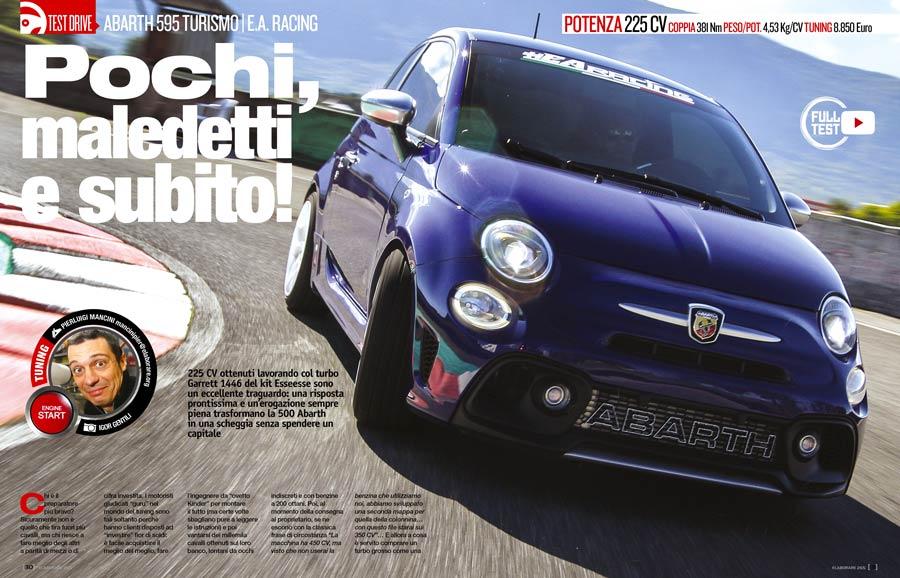 Fiat 500 Abarth preparazione
