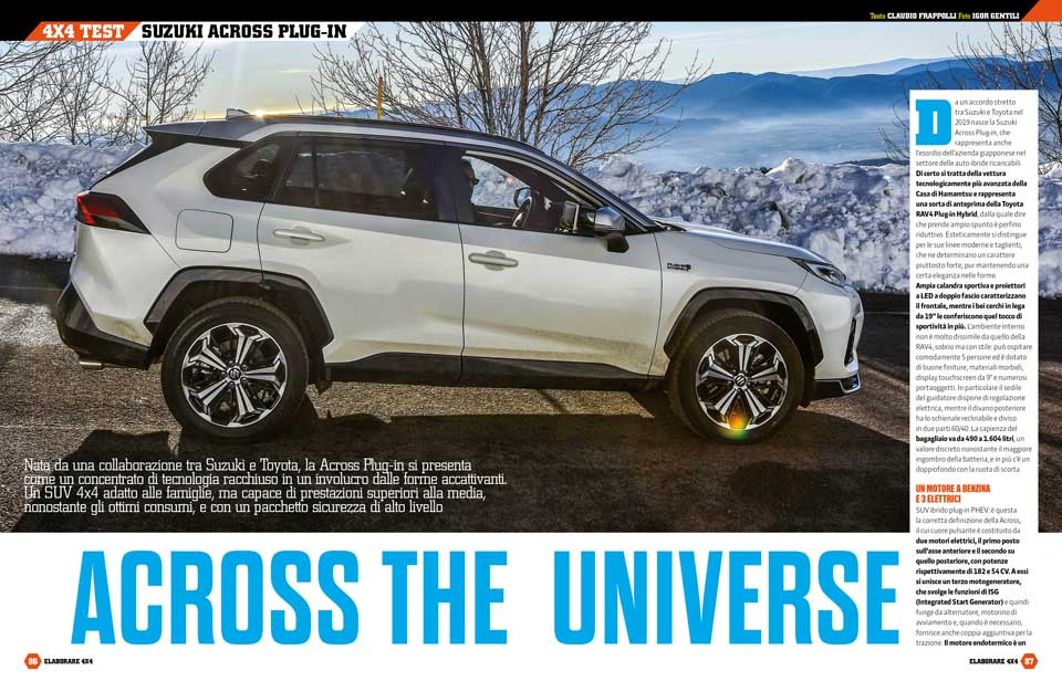Prova Suzuki Across 4x4 ibrido