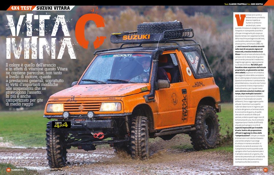 Suzuki Vitara preparazione offroad