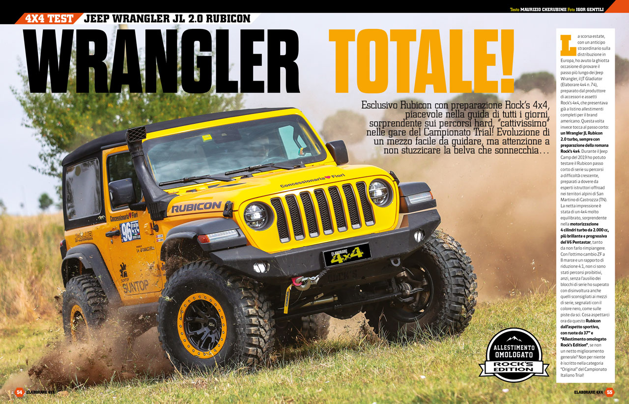Jeep Wrangler JK 2.0 Rubico