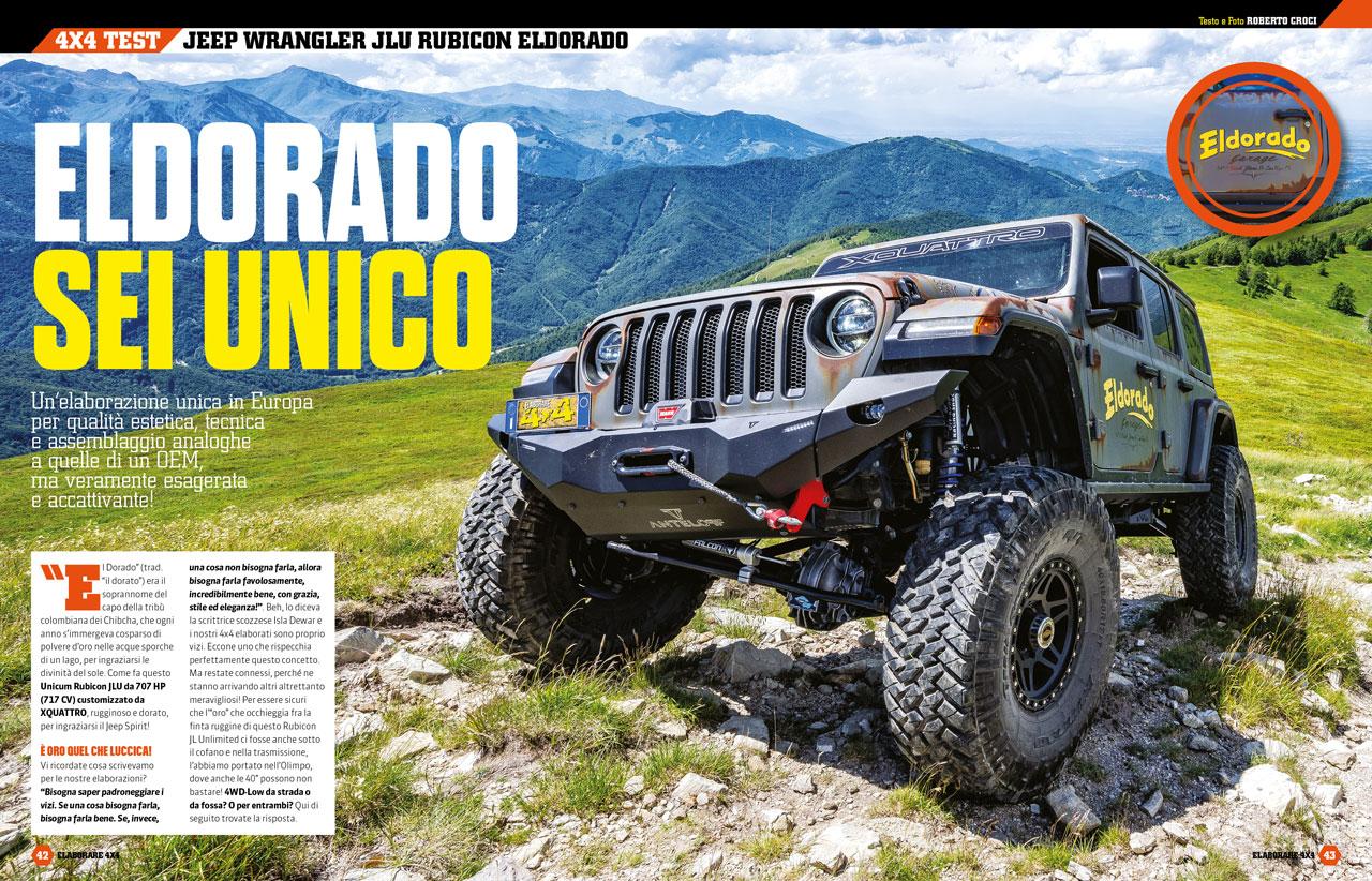 Jeep Wrangler Rubicon JLU