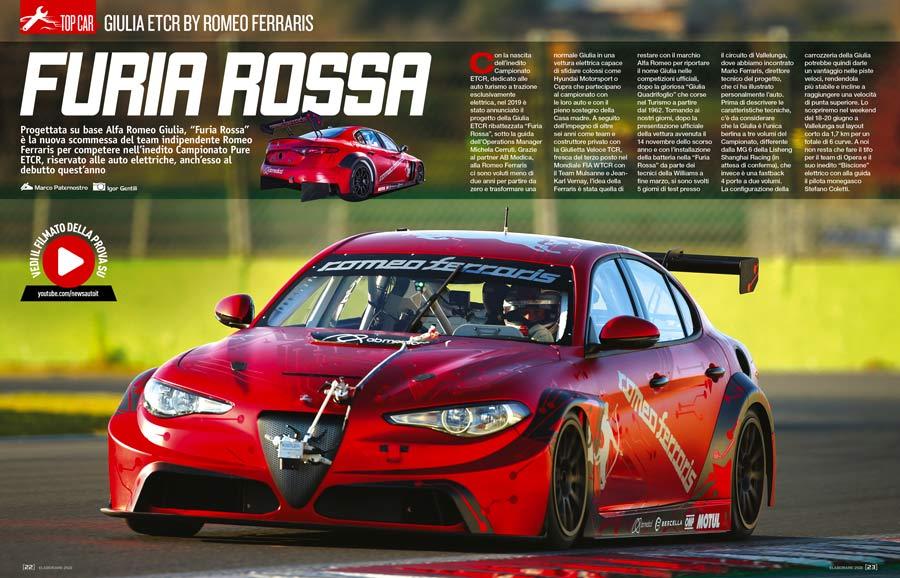 Giulia Ferraris elettrica