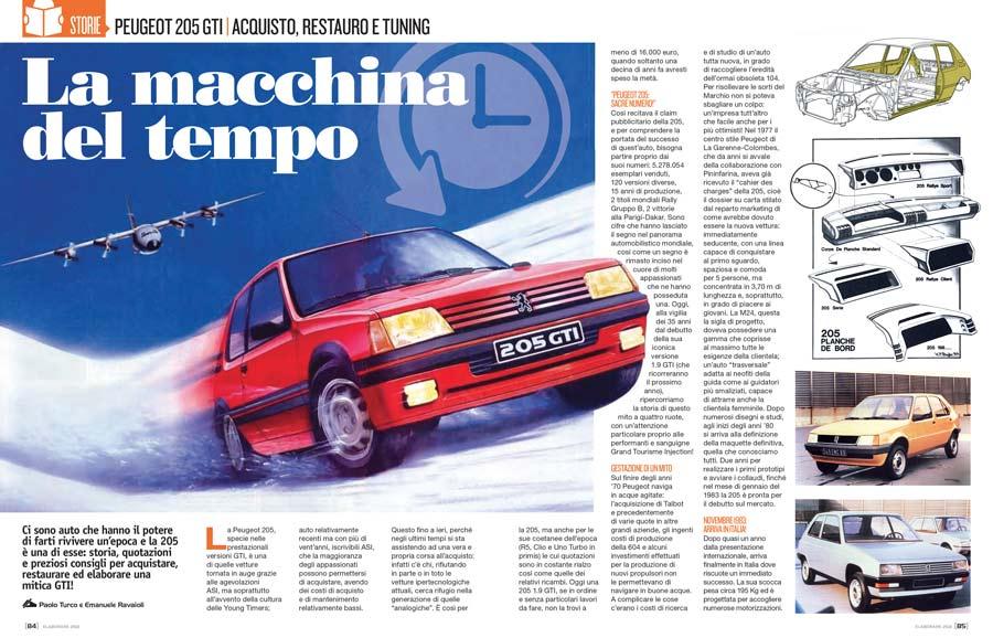 Peugeot storica 205