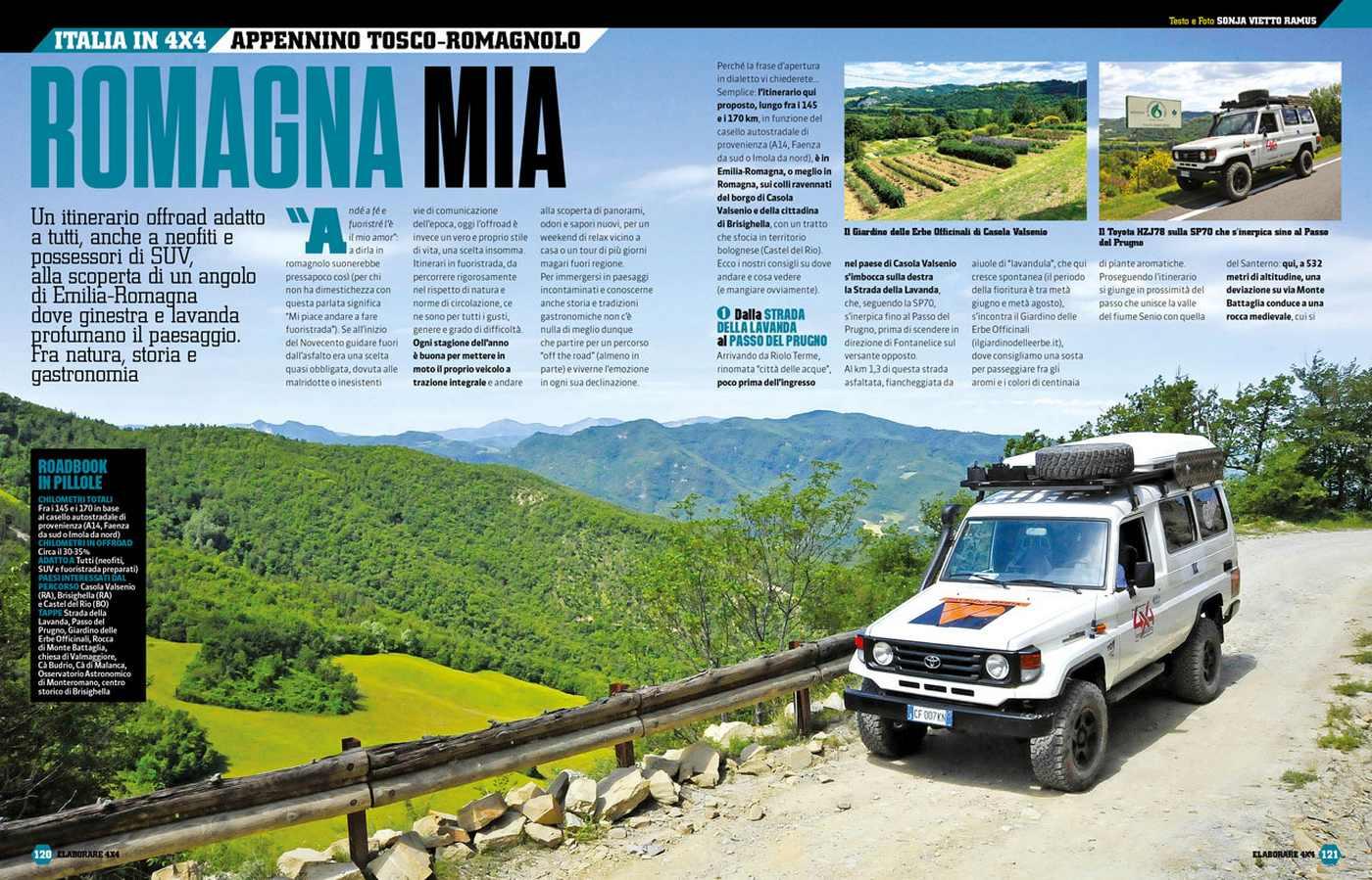 Viaggi in fuoristrada Italia Emilia romagna