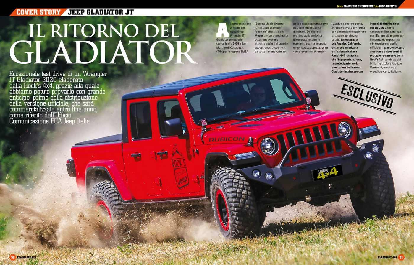 Jeep Gladiator JT prova come va