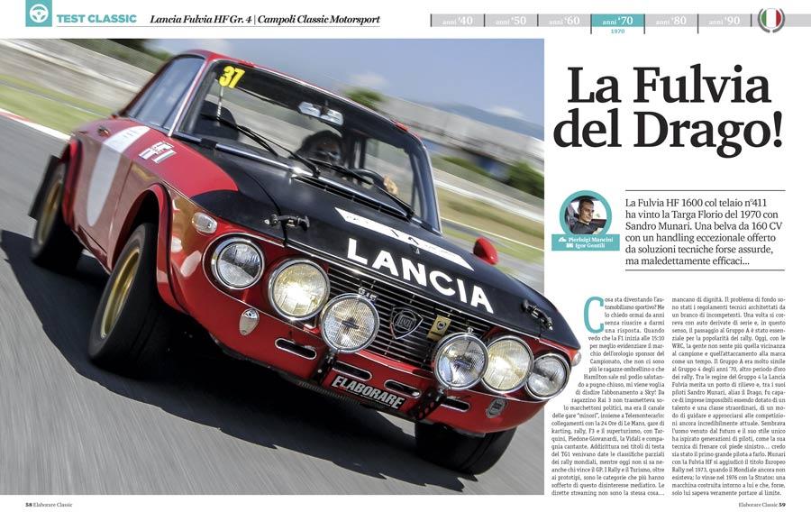 Lancia Fulvia Campoli Classic