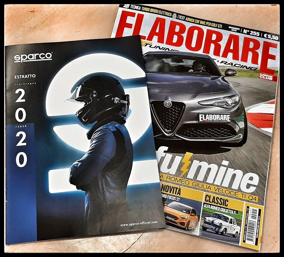 Catalogo Sparco con magazine Elaborare