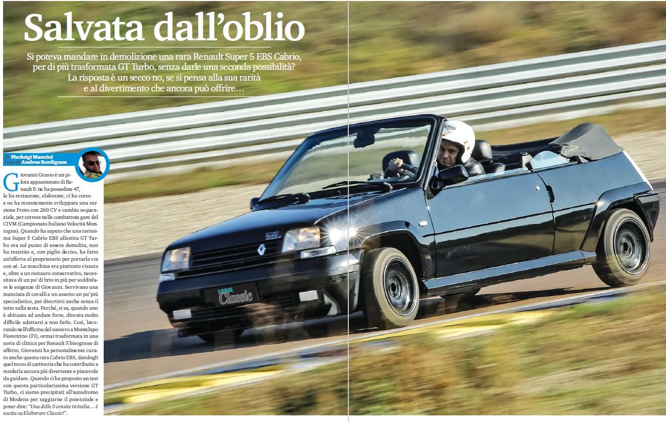 Renault Super 5 EBS Cabrio